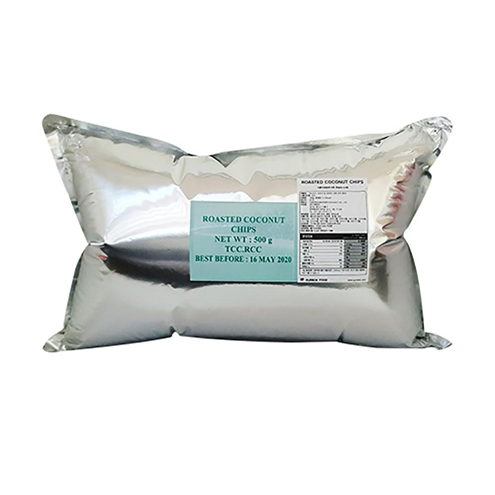 Chaokoh 로스티드 코코넛 칩, 500g, 1개
