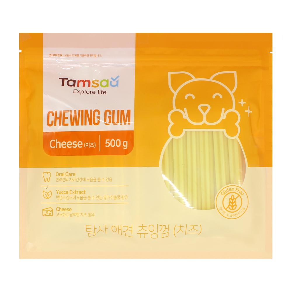 탐사 강아지 츄잉껌 500g, 치즈맛, 1개