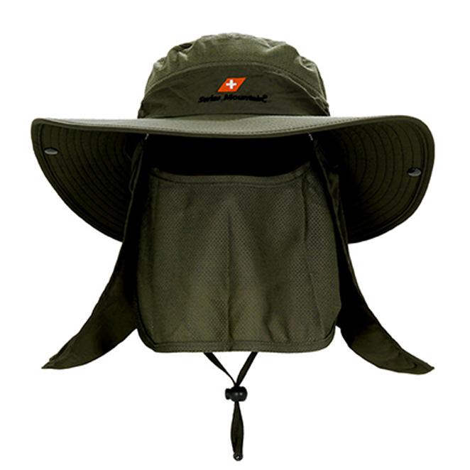 [등산] 스위스마운틴 자외선 차단 모자, 카키 - 랭킹46위 (16900원)