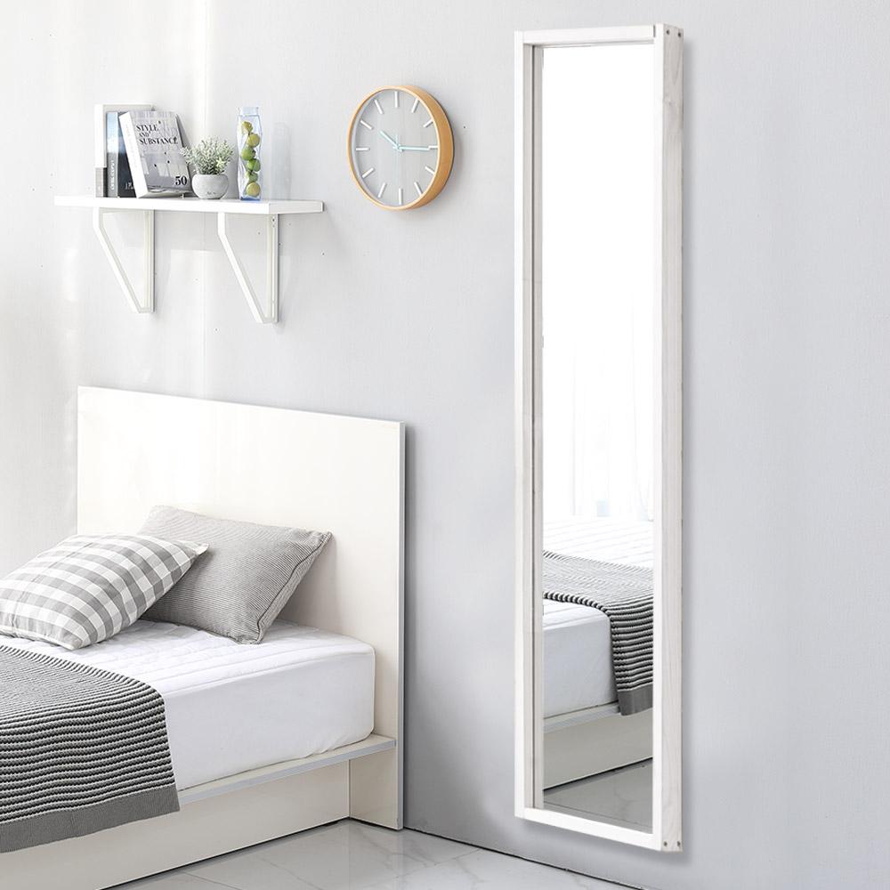 [데코퍼니처] 데코퍼니쳐 벽걸이 거울 1200, 화이트 - 랭킹7위 (23870원)