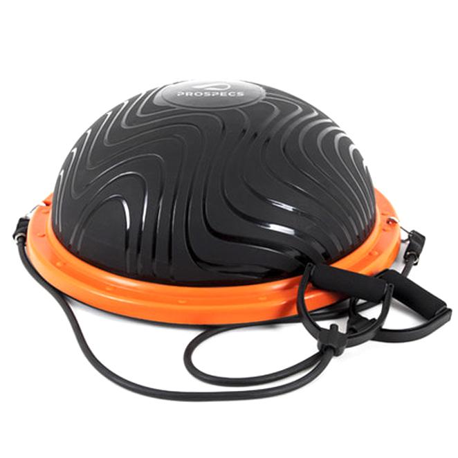 프로스펙스 밸런스 돔볼, 블랙 + 오렌지