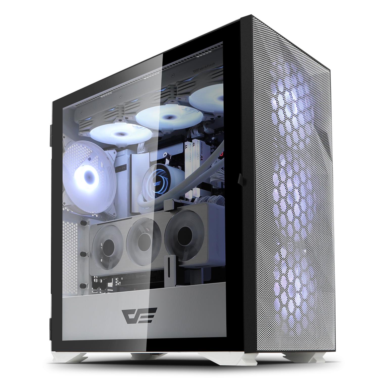 로켓PC Gamma intel No 6. 화이트 조립컴퓨터 본체 (인텔11세대 i7-11700K RTX3070 8GB WIN미포함 삼성 16GB NVMe 512GB ), 기본형
