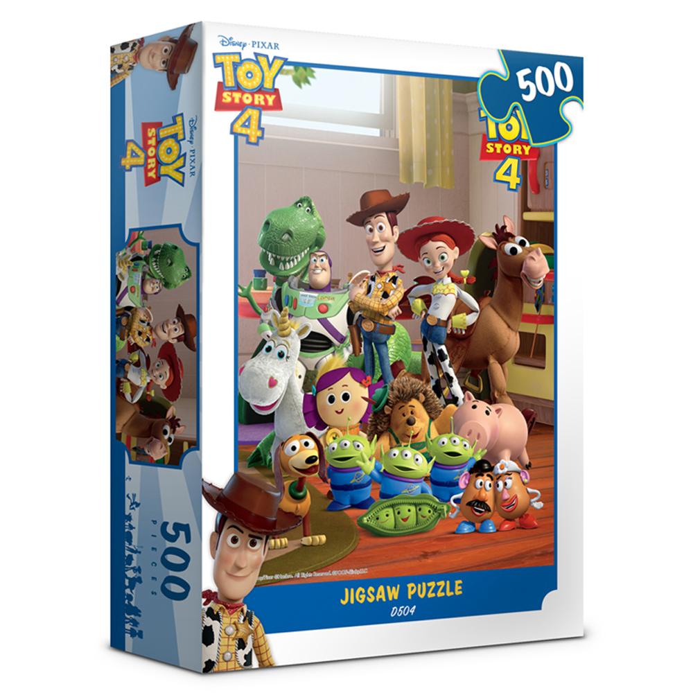디즈니 토이스토리4 직소퍼즐 D504, 500피스, 혼합색상