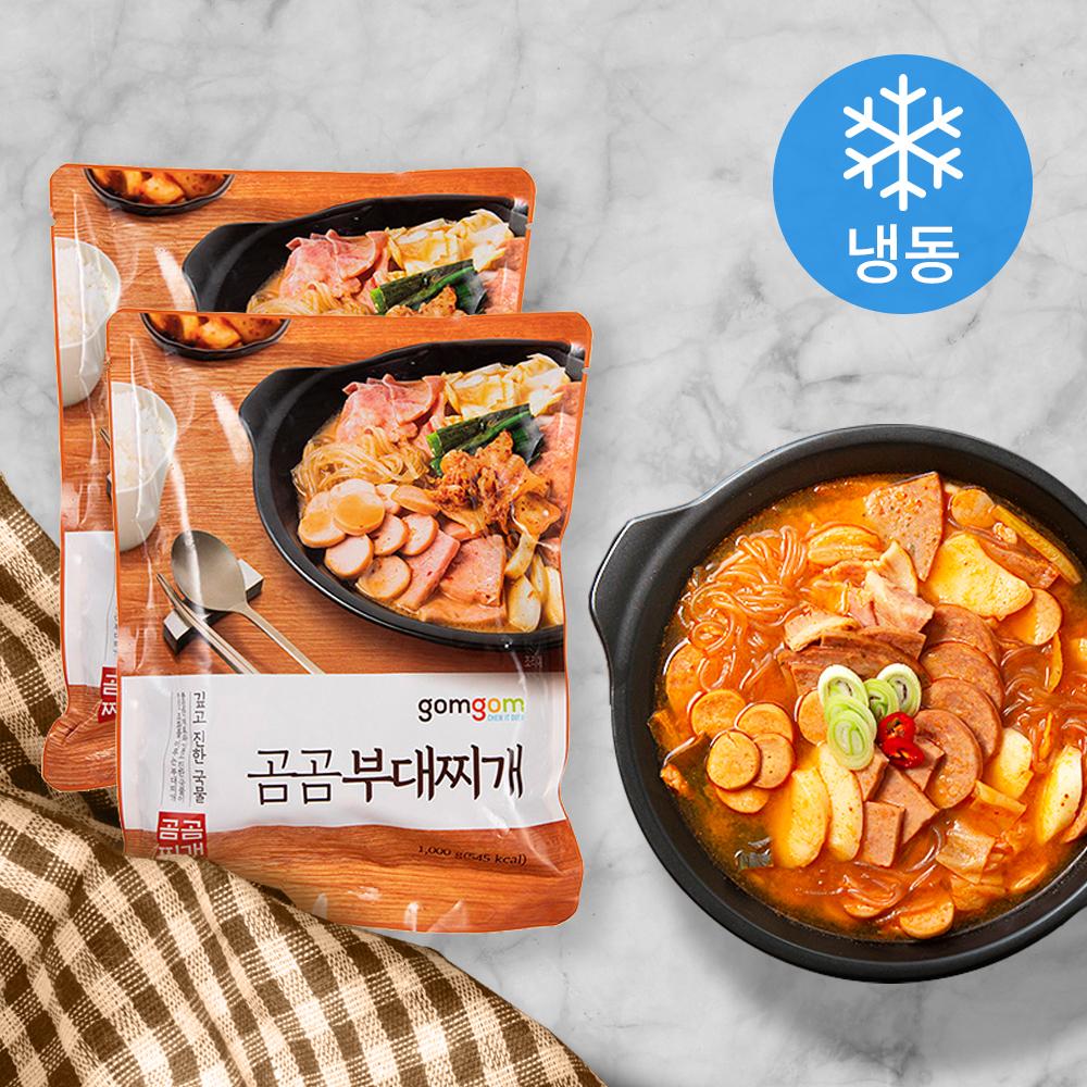 곰곰 부대찌개 (냉동), 1kg, 2개