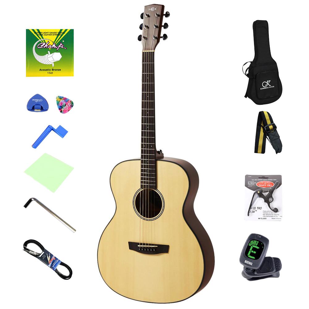 헥스 하이브 어쿠스틱 기타 F100, 혼합 색상