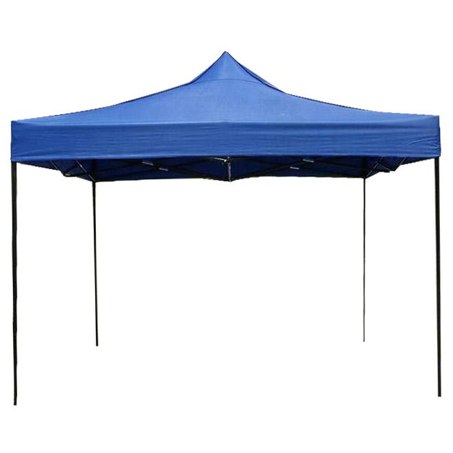 런웨이브 캐노피 천막지붕 3 x 3 m + 프레임 세트, 블루 (POP 117586418)