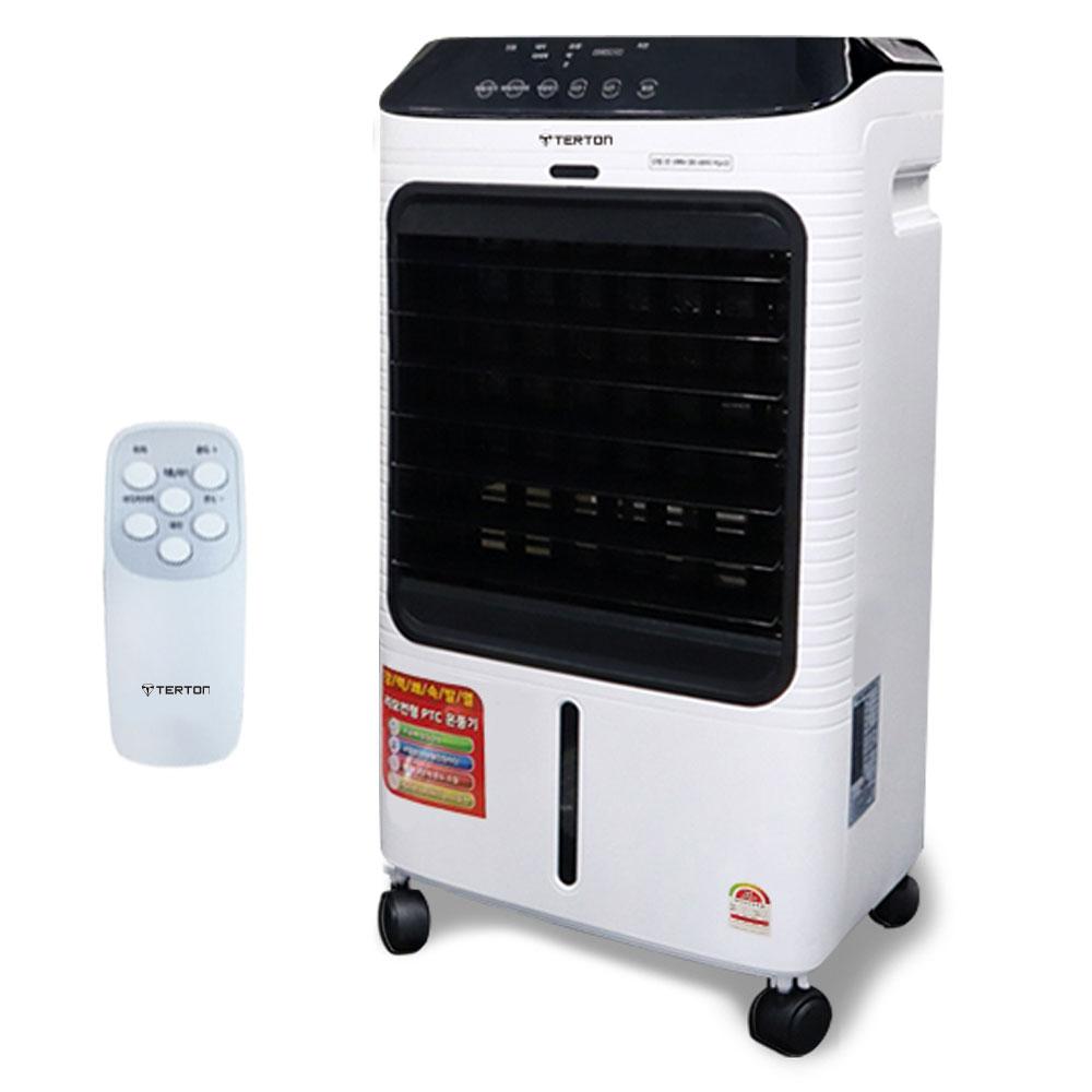 테르톤 쾌속발열 리모컨형 이동식 PTC온풍기, SGN-30, 혼합 색상