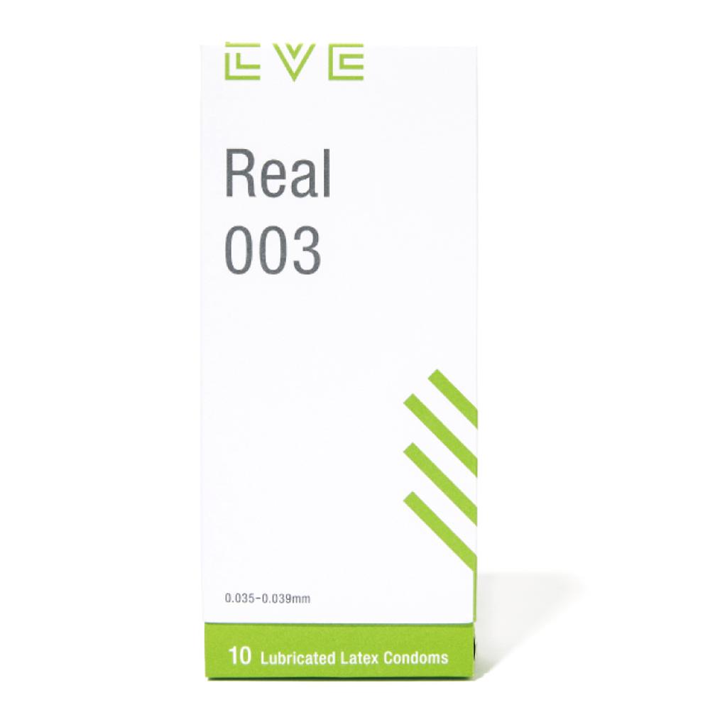이브 리얼003극초박형 콘돔, 10개입, 1개