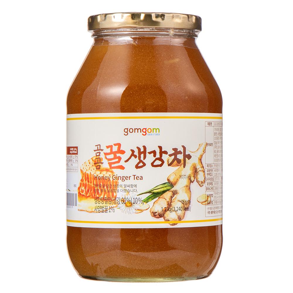 곰곰 꿀생강차 1.2kg, 1개