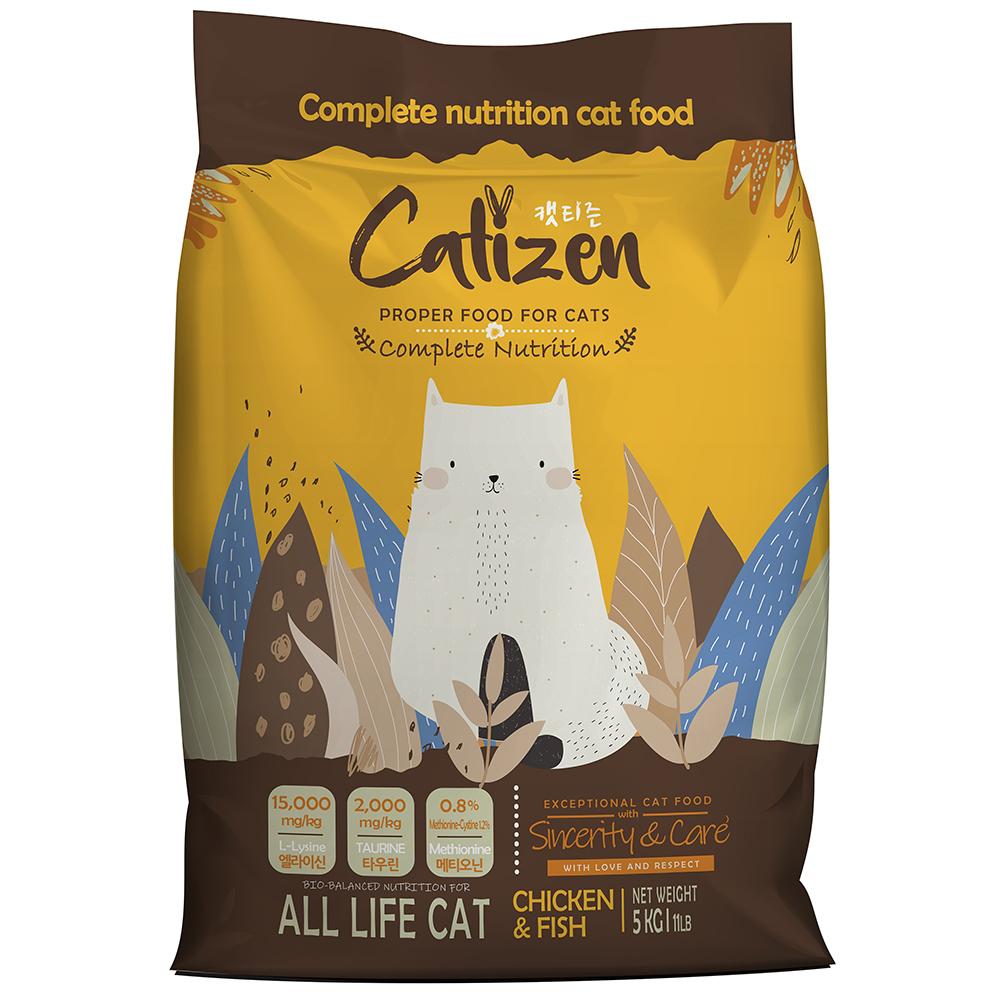 캣티즌 전연령 고양이사료, 닭, 5kg