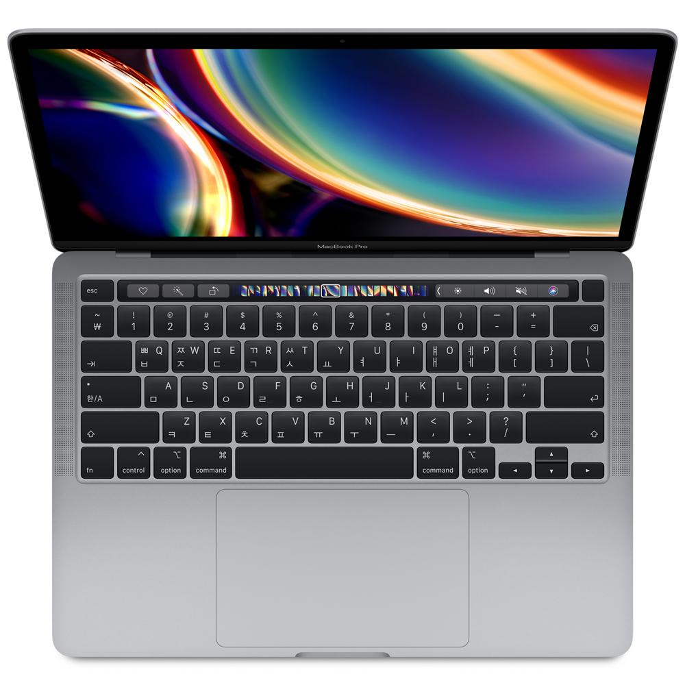 Apple 2020년 맥북 프로 터치바 13, 10세대 i7, 16GB, SSD 512GB, 스페이스 그레이 (TOP 1650206709)