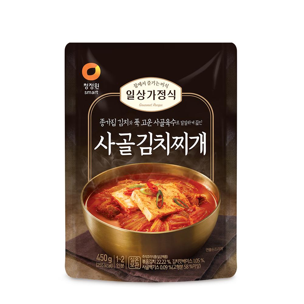 청정원 일상가정식 사골 김치찌개, 450g, 1개