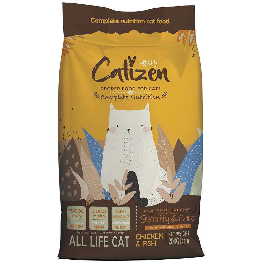캣티즌 전연령 고양이사료, 닭, 20kg