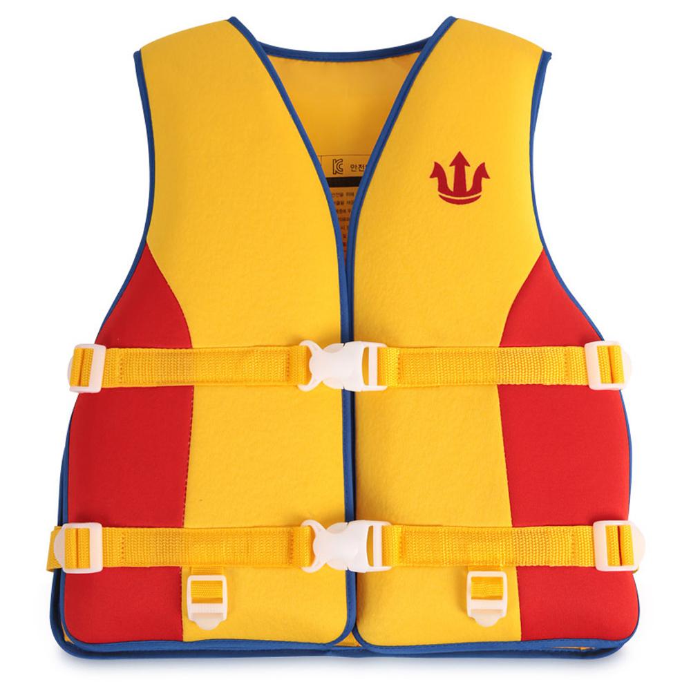 포세이돈 아동용 프리미엄 수영조끼 25kg~35kg, 혼합 색상-20-5419680