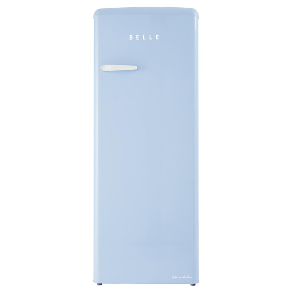 BELLE 레트로 글라스 원도어 냉장고 240L 방문설치, RS24ASB-9-5689185731