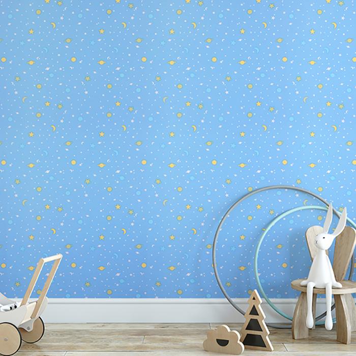 폼드림하우스 접착식 단열벽지 드림5500, 별빛소나타