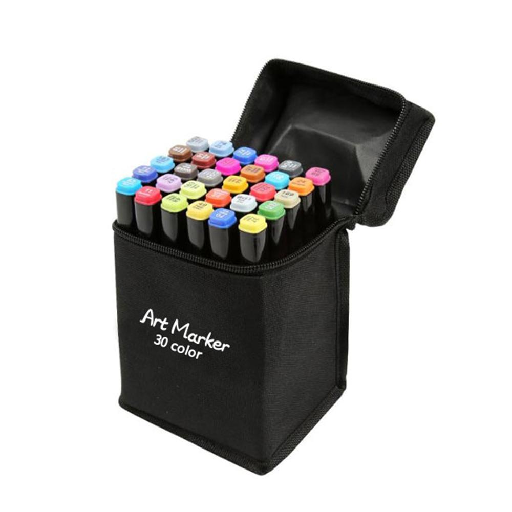 동아 터치디자인 트윈 아트마카 표준형 + 가방, 30색, 1세트