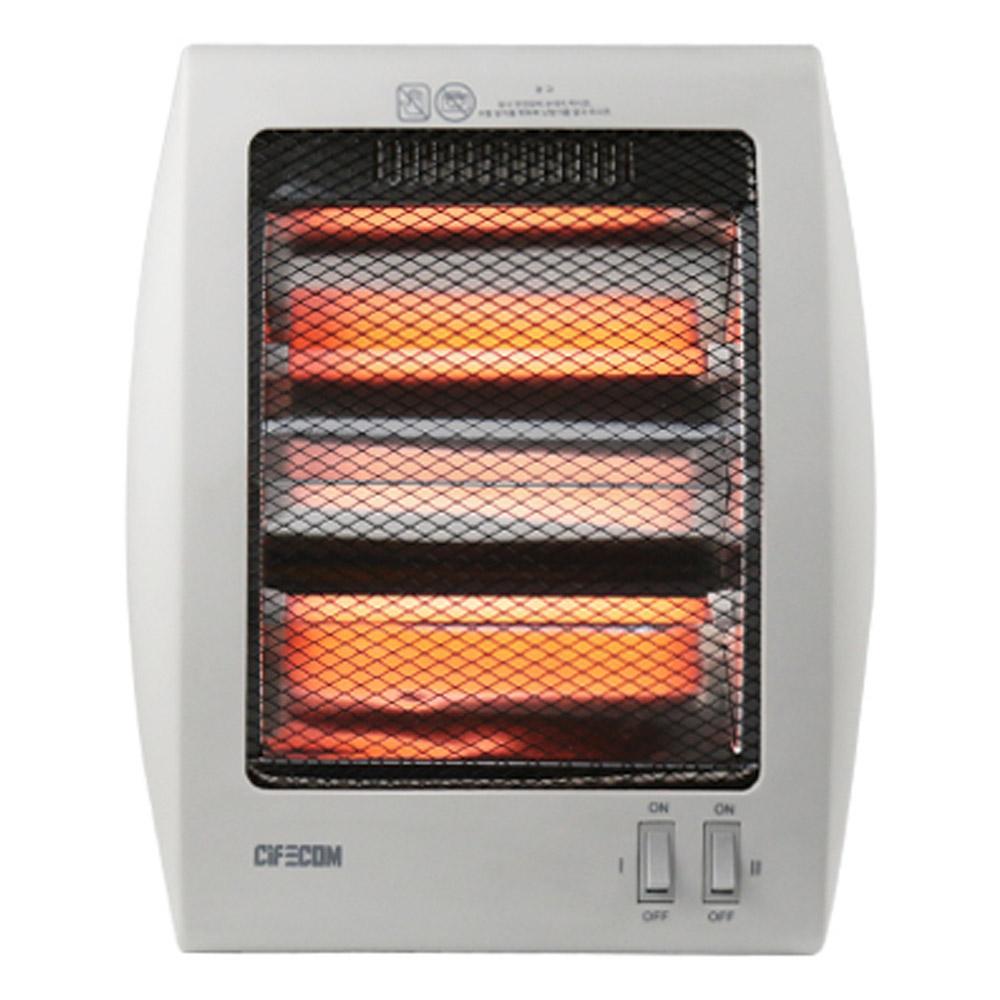 시프이컴 석영관 전기 히터, CIF-FH03W, 단일색상