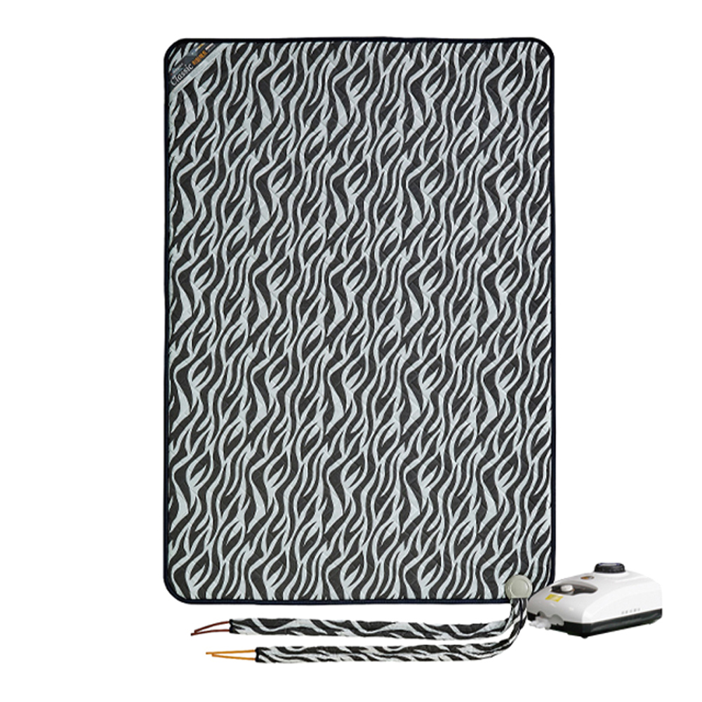 한일의료기 온수매트 지브라 분리난방 블랙, 더블(140 x 195 cm)