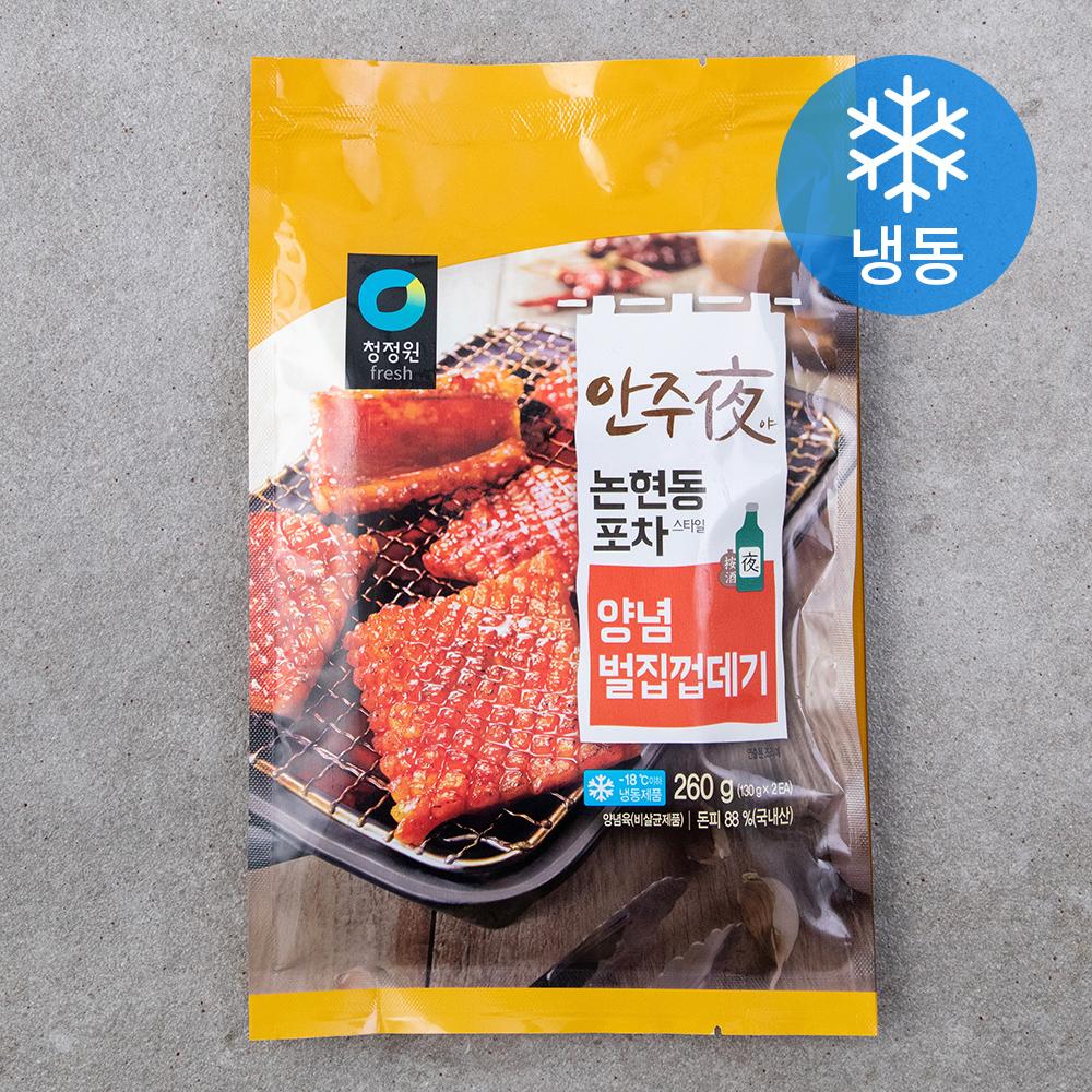 청정원 안주야 벌집껍데기 (냉동), 260g, 1개