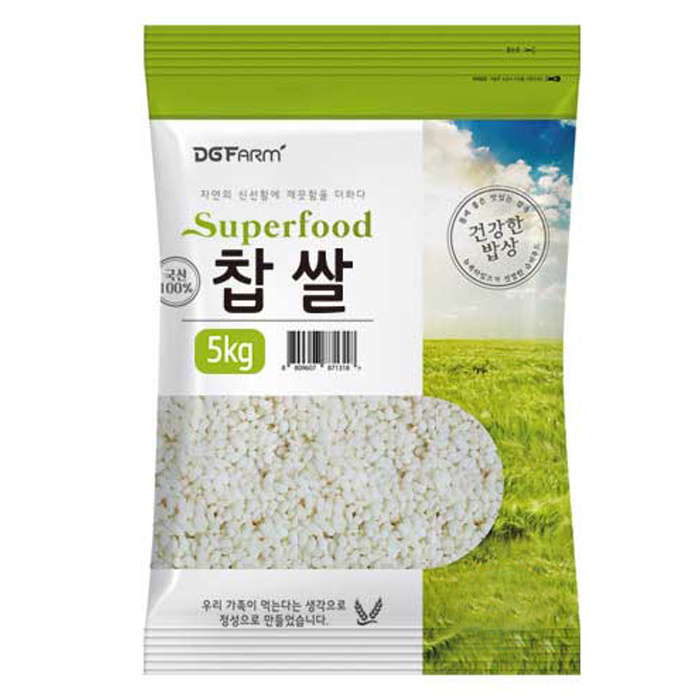 대구농산 찹쌀, 5kg, 1개