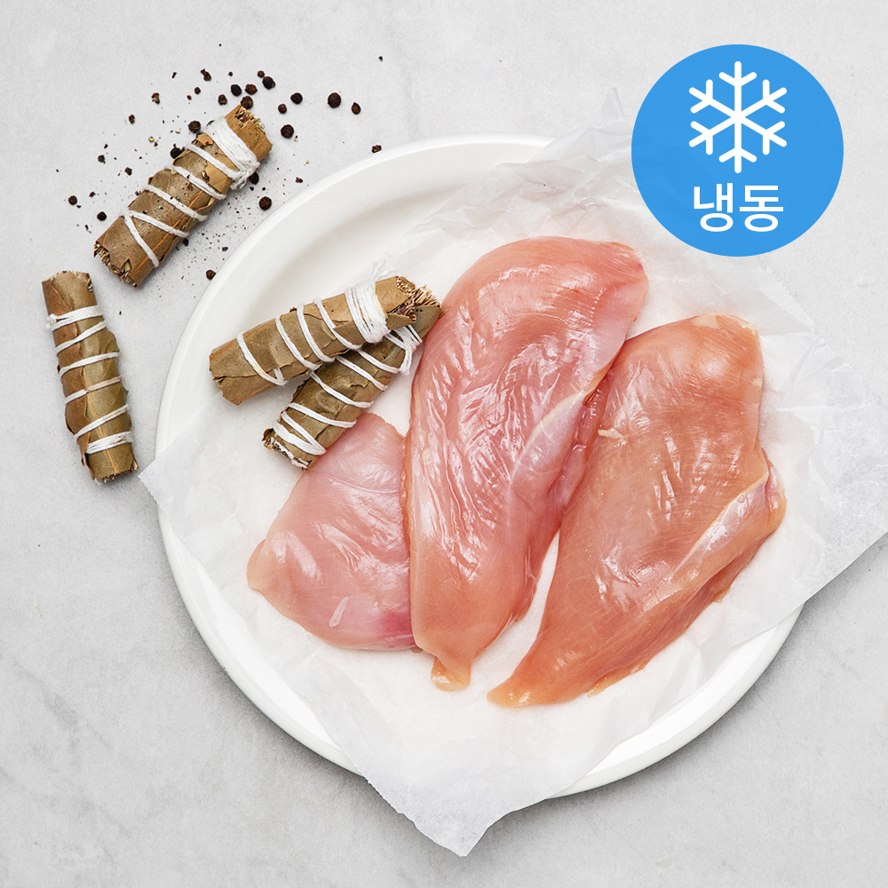 [닭가슴살 다이어트] 올계 유기농인증 닭가슴살 (냉동), 300g, 1개 - 랭킹73위 (9740원)