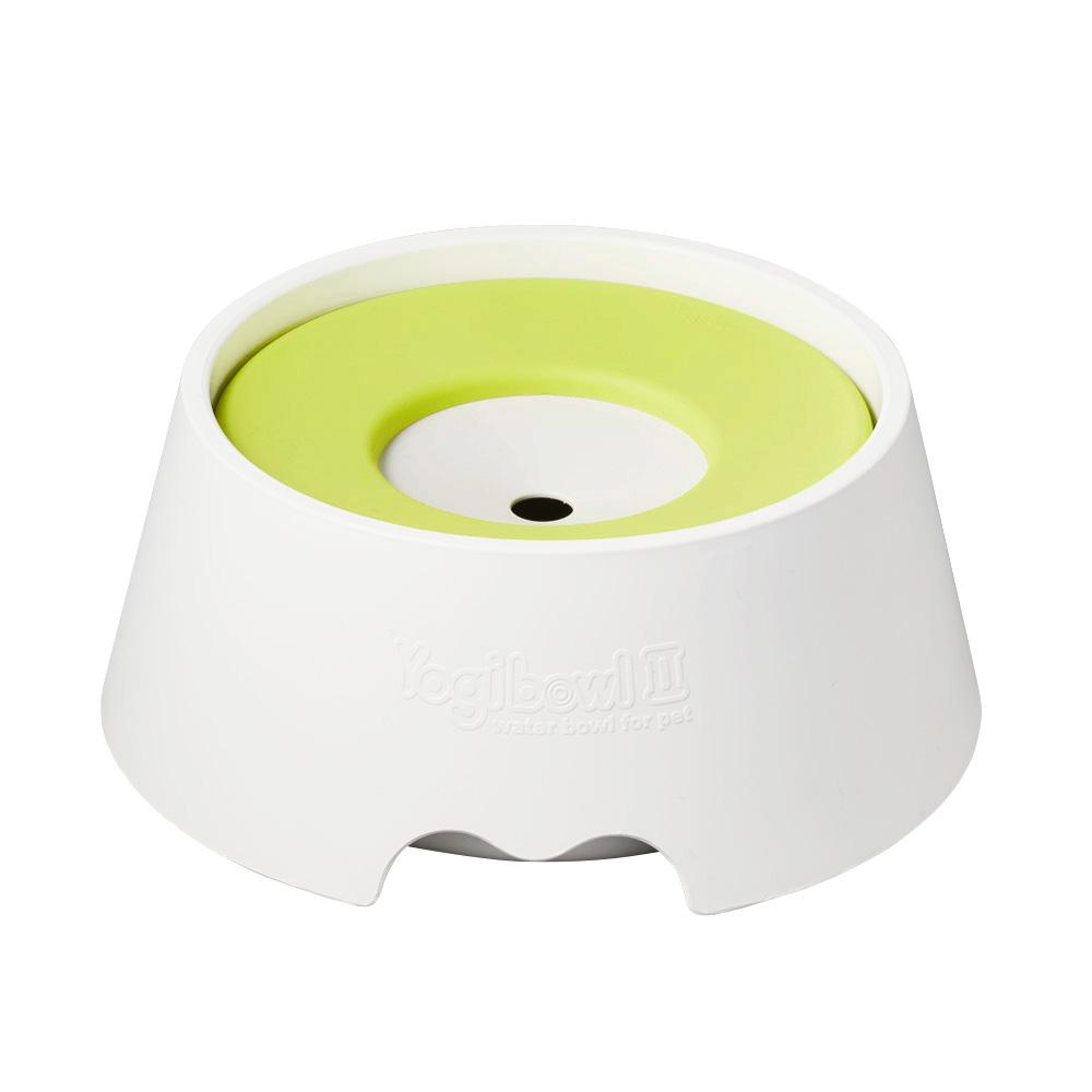 요기펫 물그릇2 중형견용 220 x 90 mm 1L, Lemon, 1개