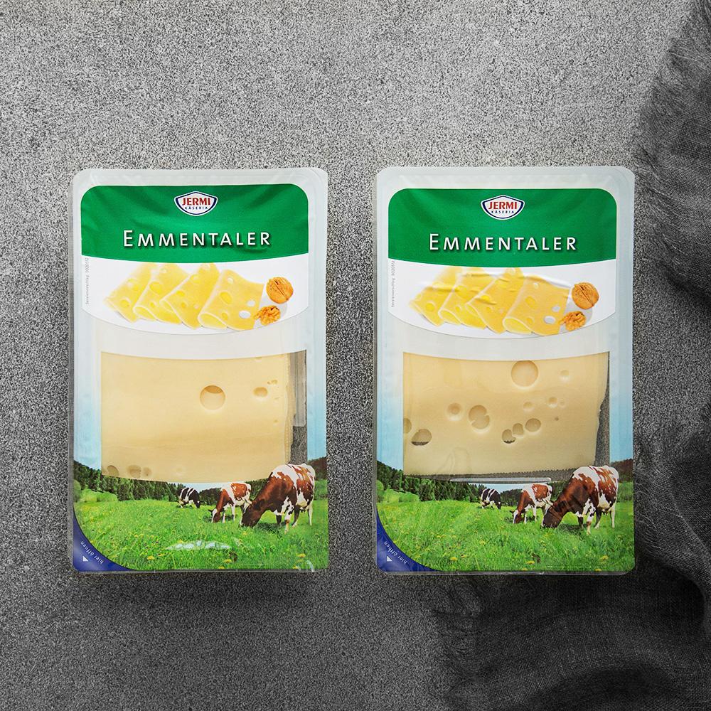 제르미 에멘탈 슬라이스 치즈, 150g, 2개