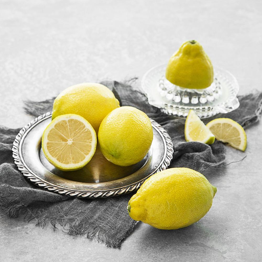 친환경인증 제주도 레몬, 550g, 1개