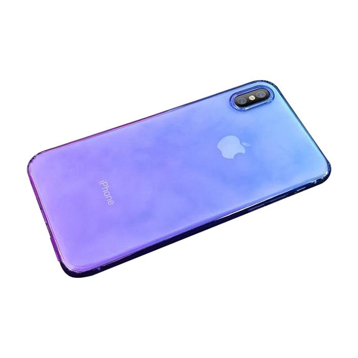 그라데이션 투명 휴대폰 케이스