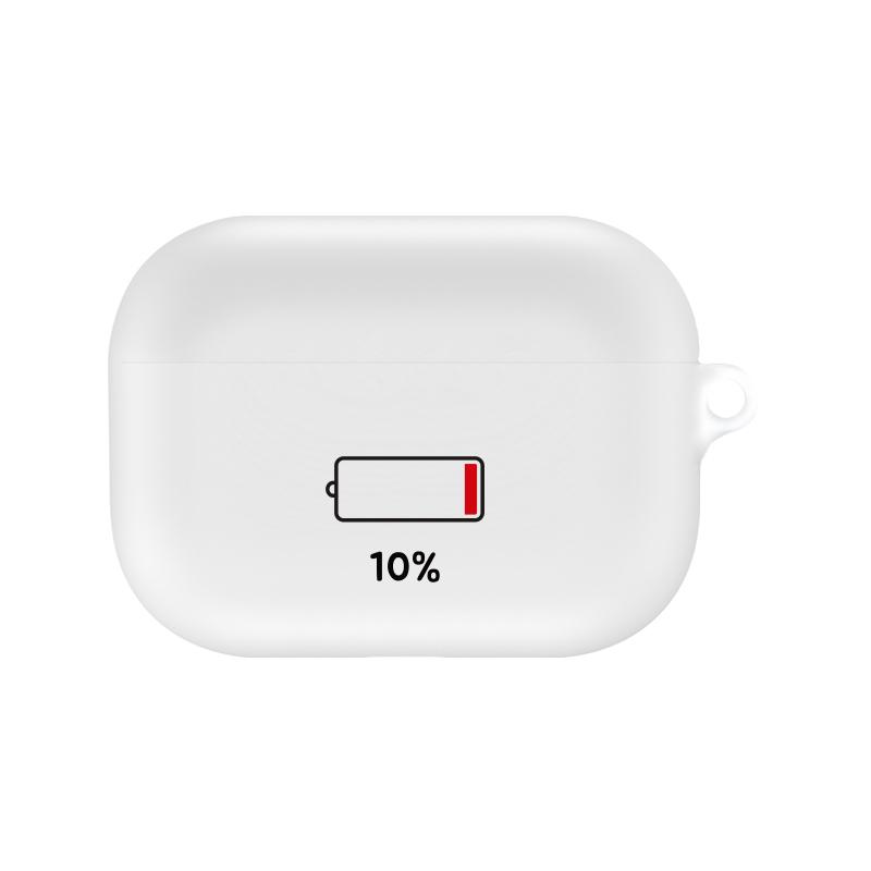머큐리 퍼센트 디자인 에어팟 프로 이어폰 케이스, 단일 상품, 10
