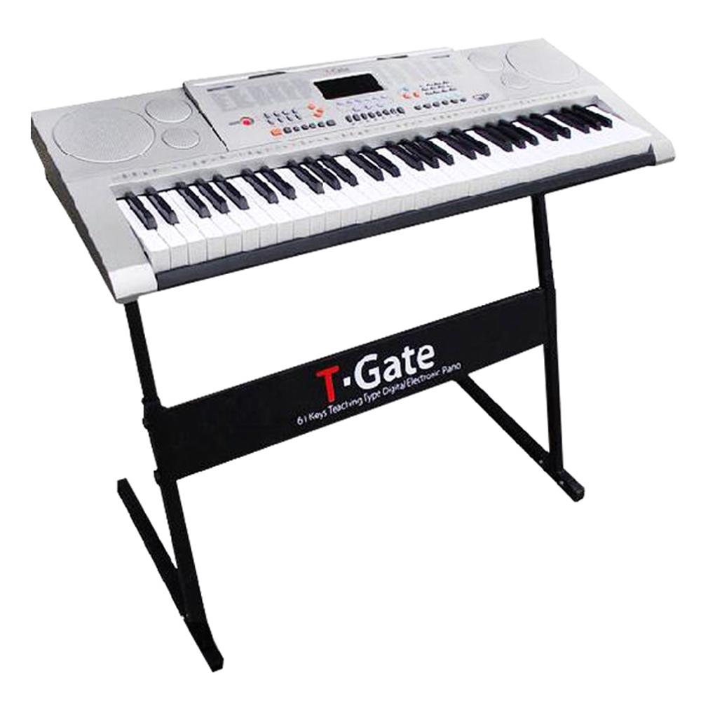 토이게이트 교습용 디지털 피아노 TYPE D Classic, 단일 상품, 실버