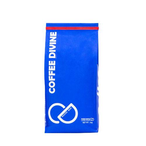 커피디바인 콜롬비아수프리모 원두커피, 모카포트/가정용에스프레소, 1kg, 1개