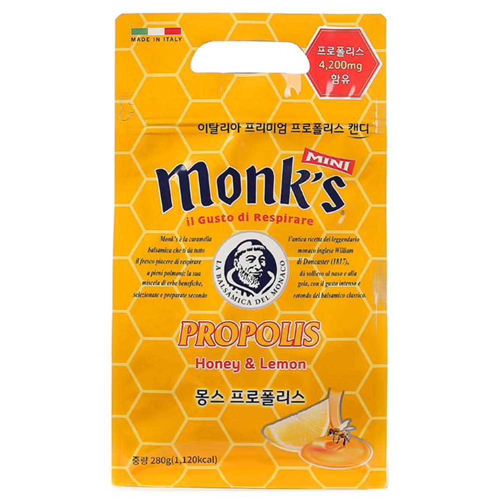 Monks 프로폴리스 캔디, 280g, 1개