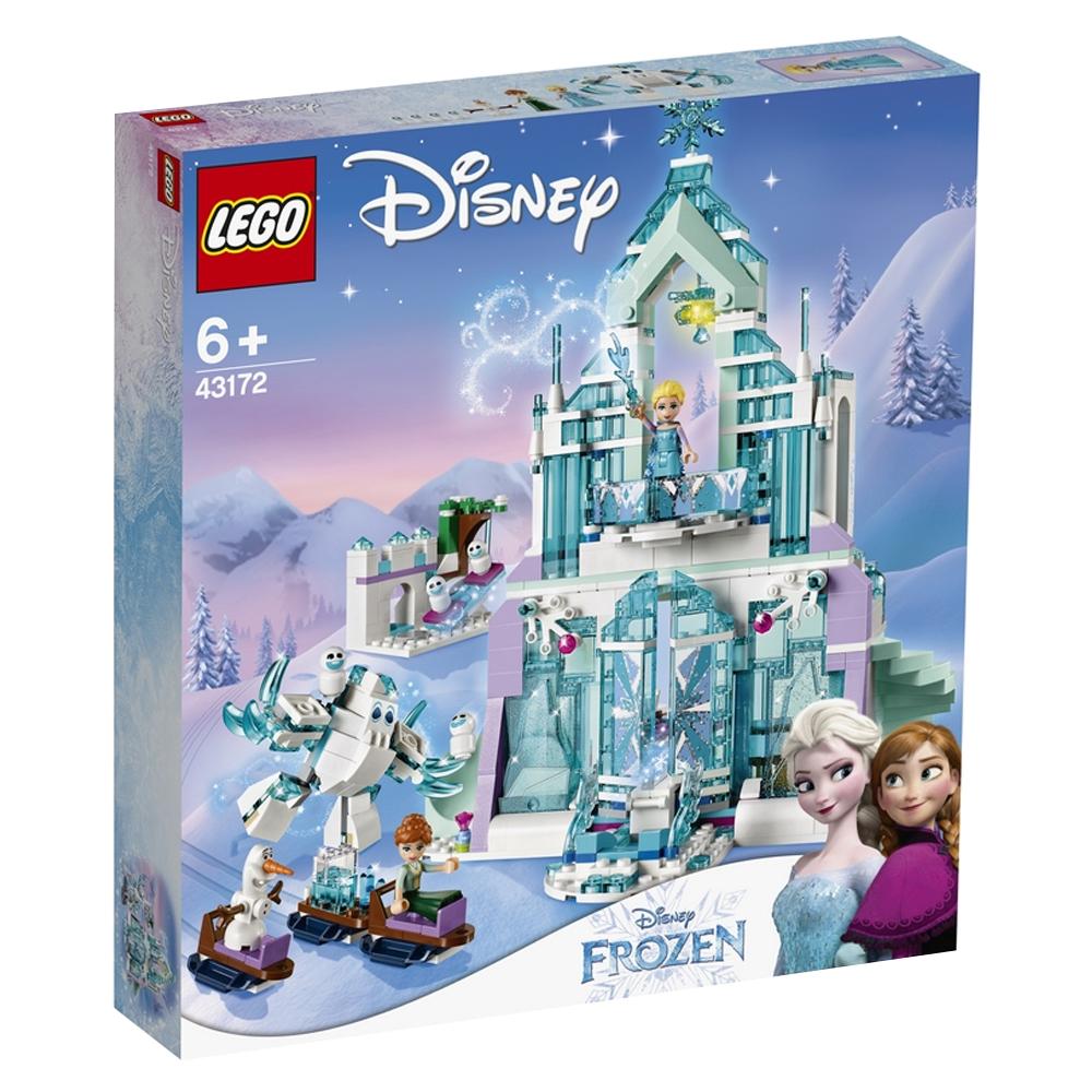디즈니프린세스 엘사의 마법 얼음 궁전 레고 43172, 혼합 색상