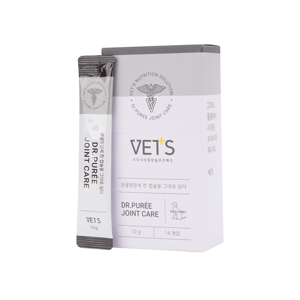 베츠 닥터퓌레 조인트케어 강아지 관절 슬개골 고관절 영양제 10g, 닭고기, 30개입