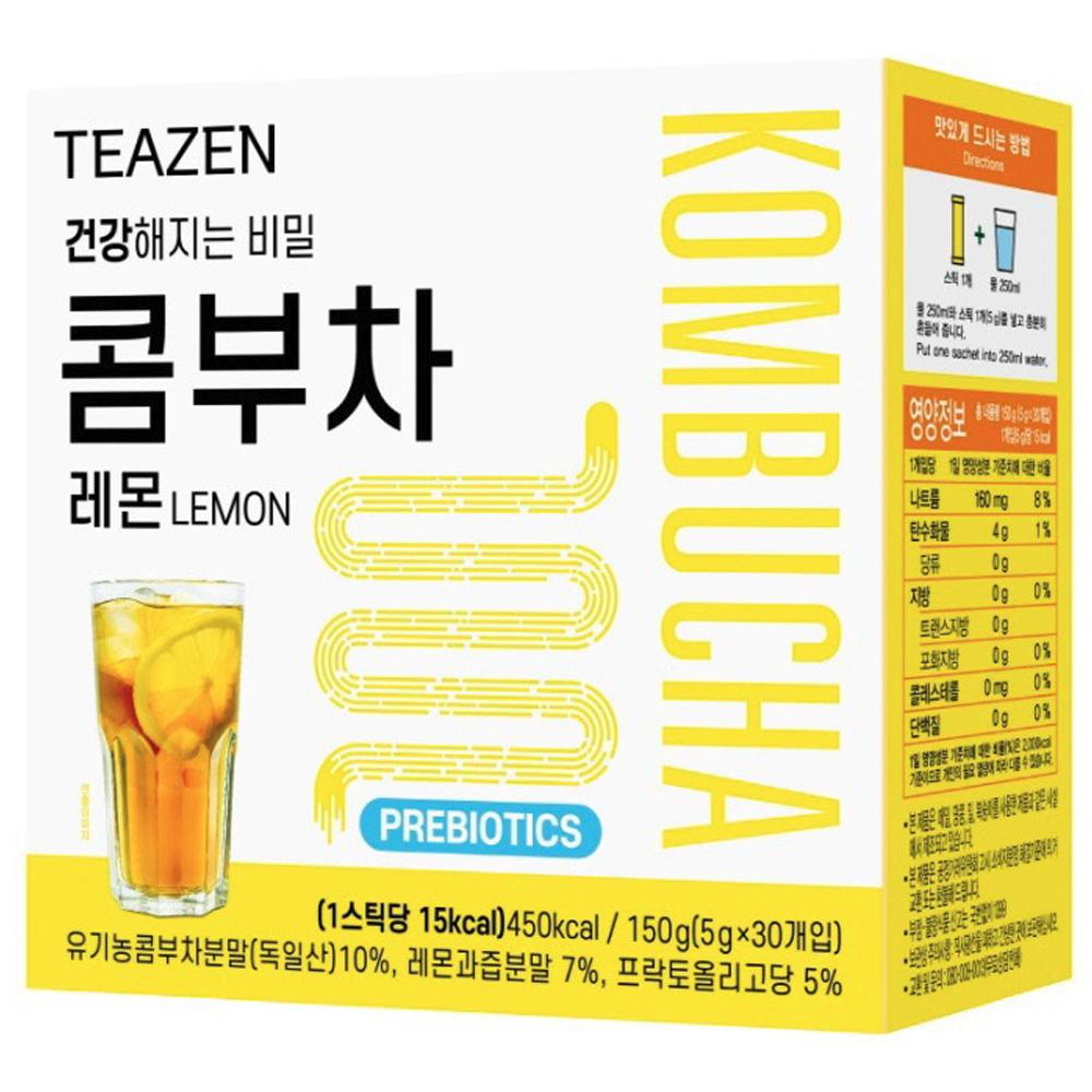 티젠 콤부차 레몬, 5g, 30개