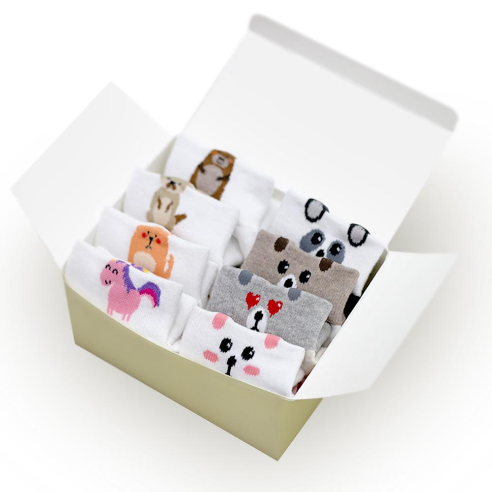 투투삭스 여성용 입체양말 8켤레 선물세트