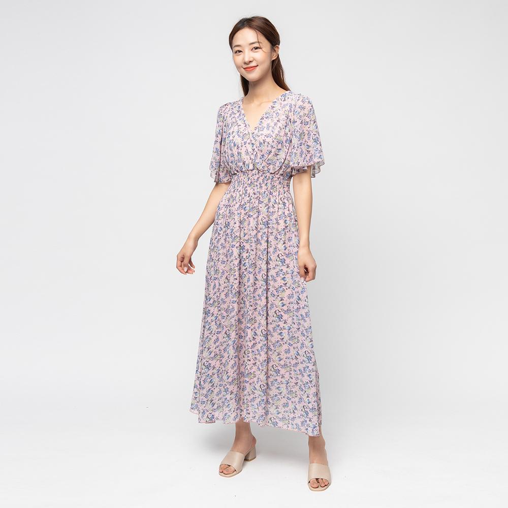 [여성패션] 캐럿 여성 백리본 플로랄 드레스 - 랭킹81위 (21900원)