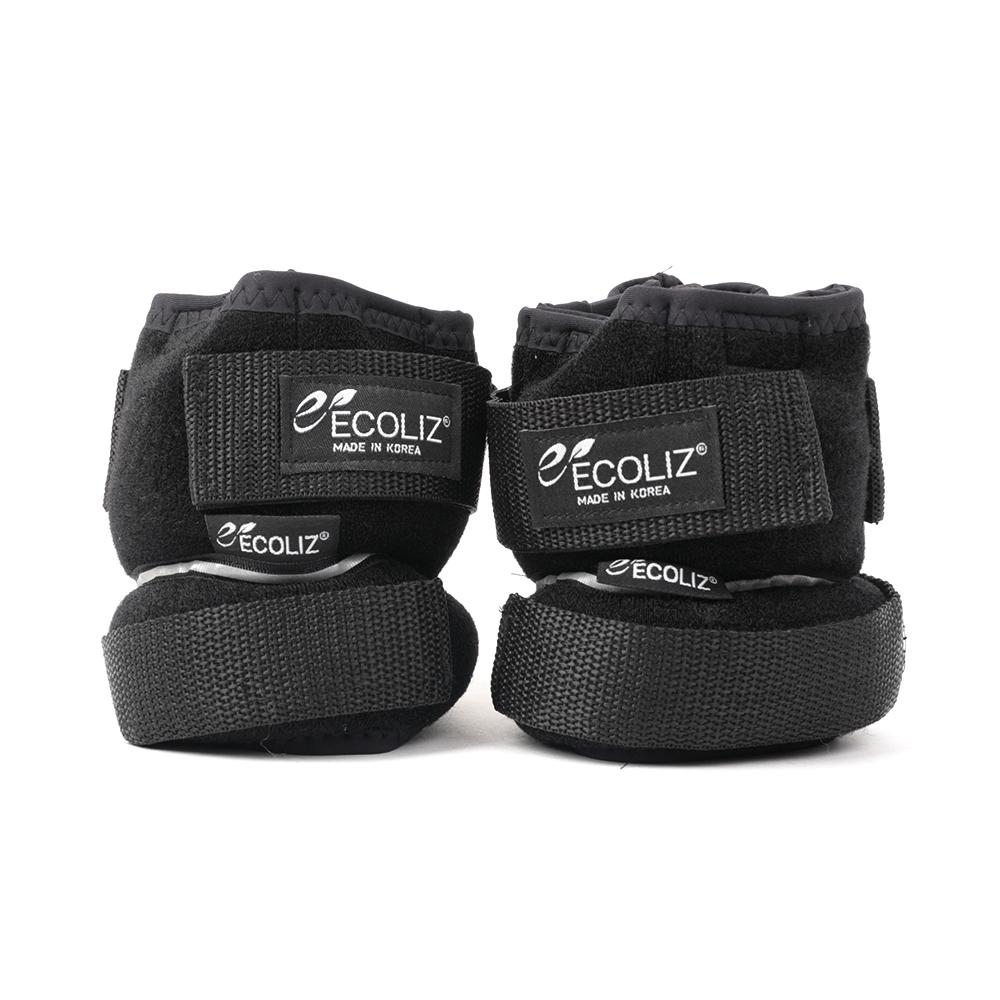 에코리즈 무게 조절형 발목 중량 밴드 2~4kg, 혼합 색상, 4kg