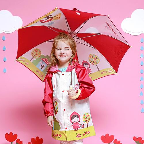 캔디베이비 아동용 레드후드 우산