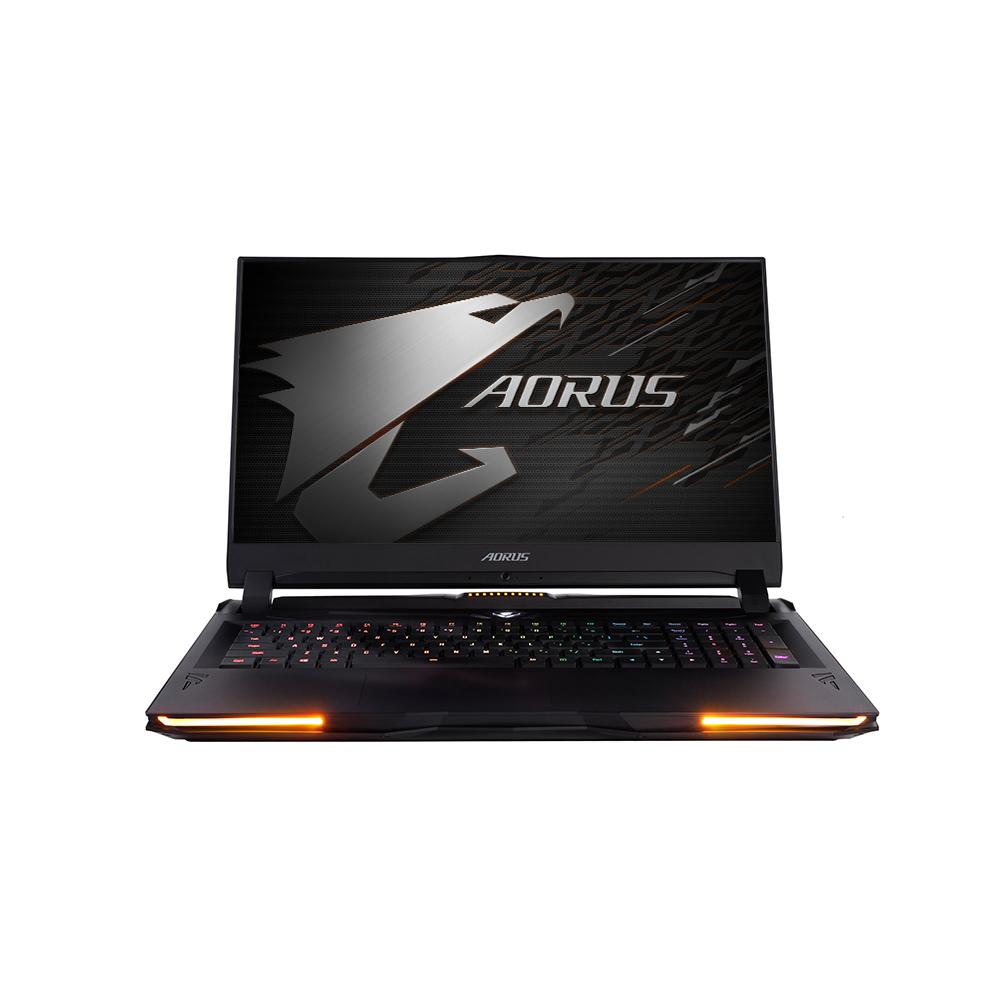 기가바이트 게이밍 노트북 AORUS 17X YB i9 W10P (i9-10980HK 43.9cm WIN10 Pro RTX2080 SUPER), 포함, NVMe 1TB + HDD 2TB, 32GB