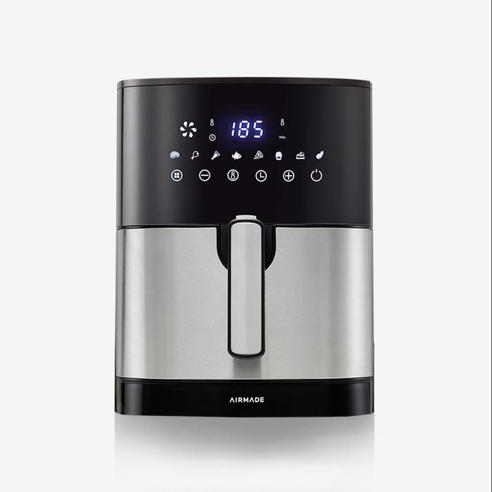 에어메이드 저소음 스텐레스 에어프라이어, i-cook AF-500A (POP 210147925)