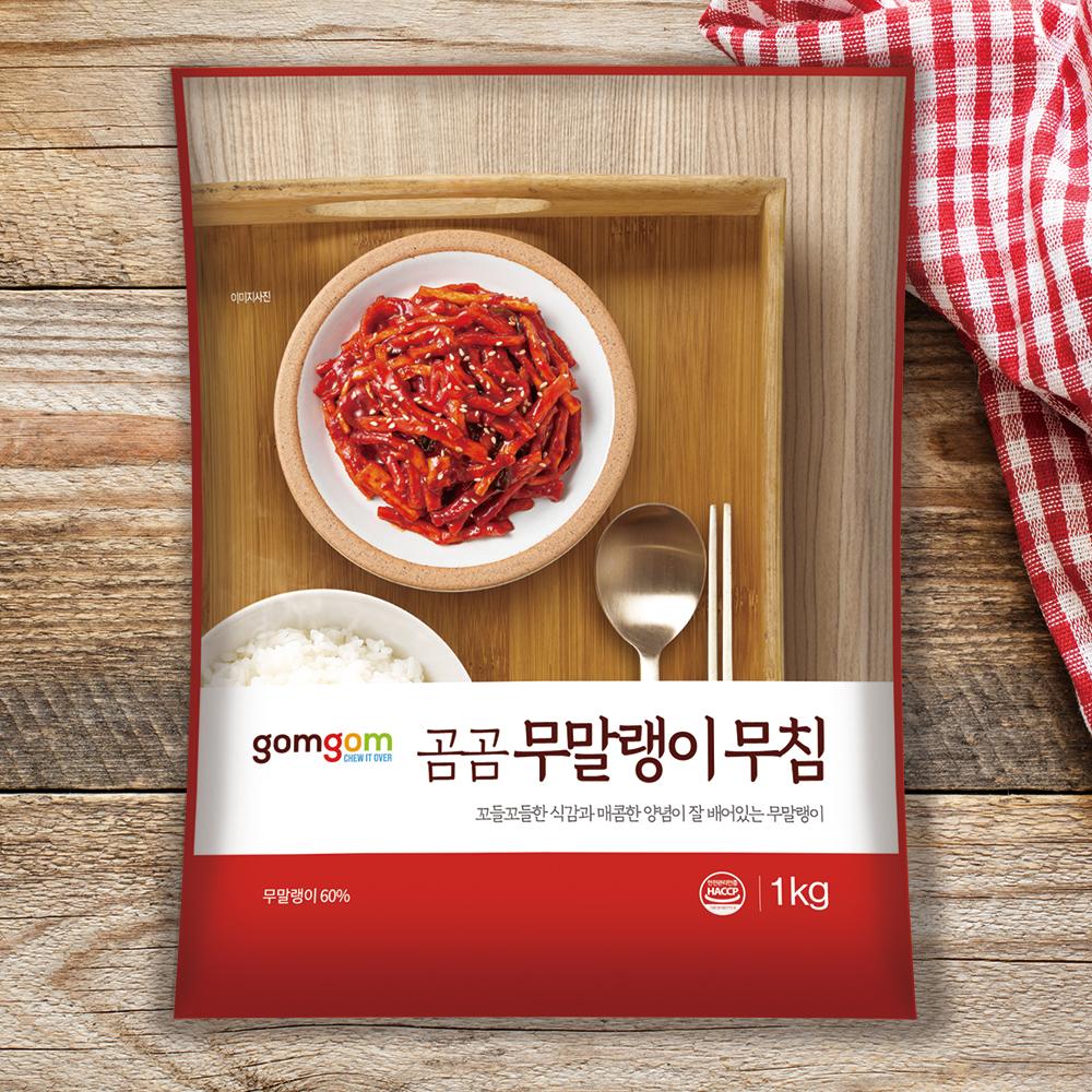 곰곰 무말랭이 무침 (냉장), 1kg, 1개