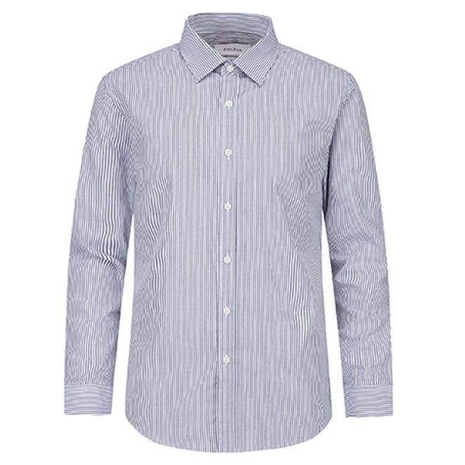 지오지아 남성용 솔리드 슬림 드레스셔츠 AEA3WD1101