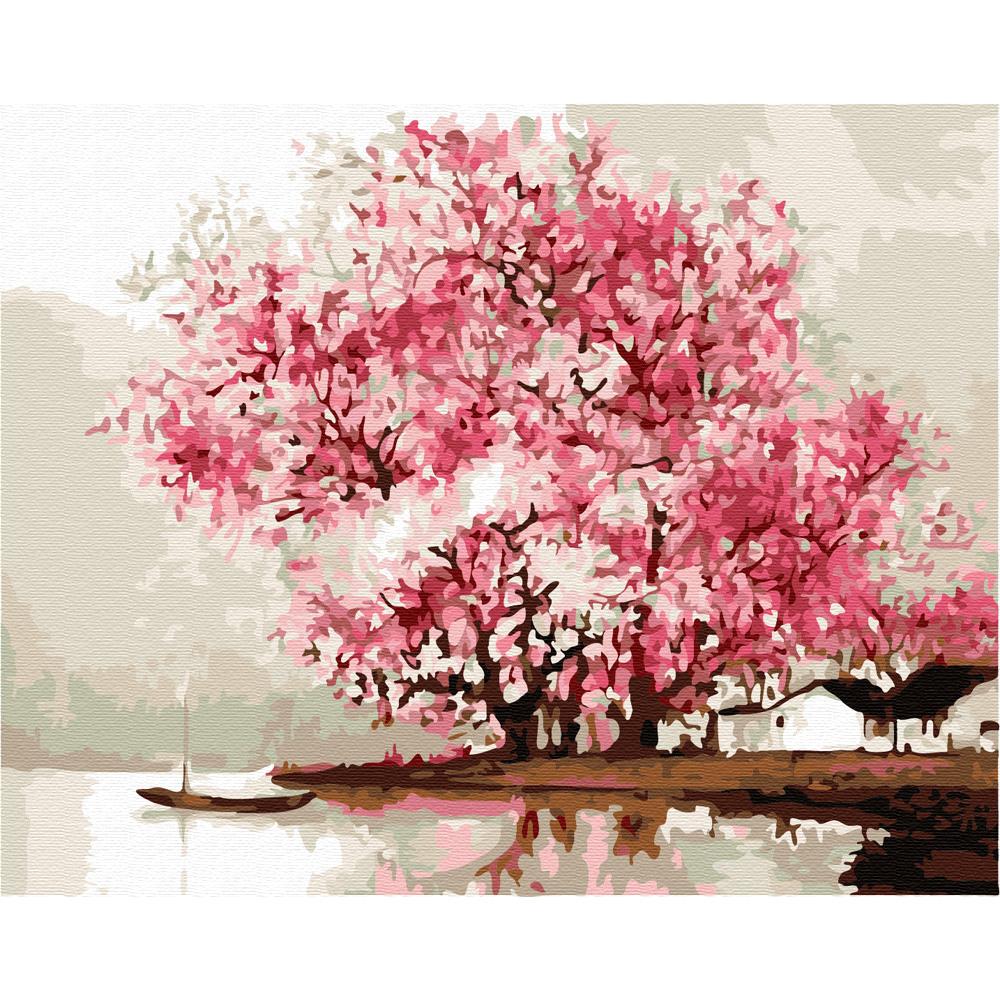 아트조이 DIY 명화 그리기 세트 40 x 50 cm, 강가의 봄