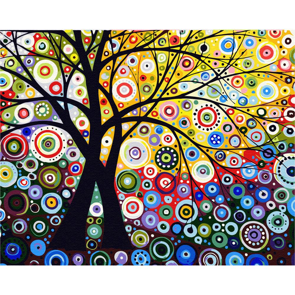아트조이 DIY 명화그리기 키트 가로형 50 x 40 cm, 생명의 나무