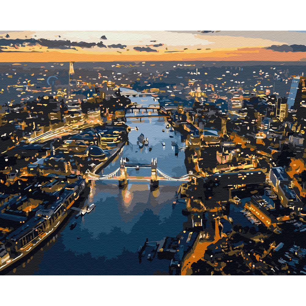 아트조이 DIY 명화 그리기 세트 40 x 50 cm, 런던 야경