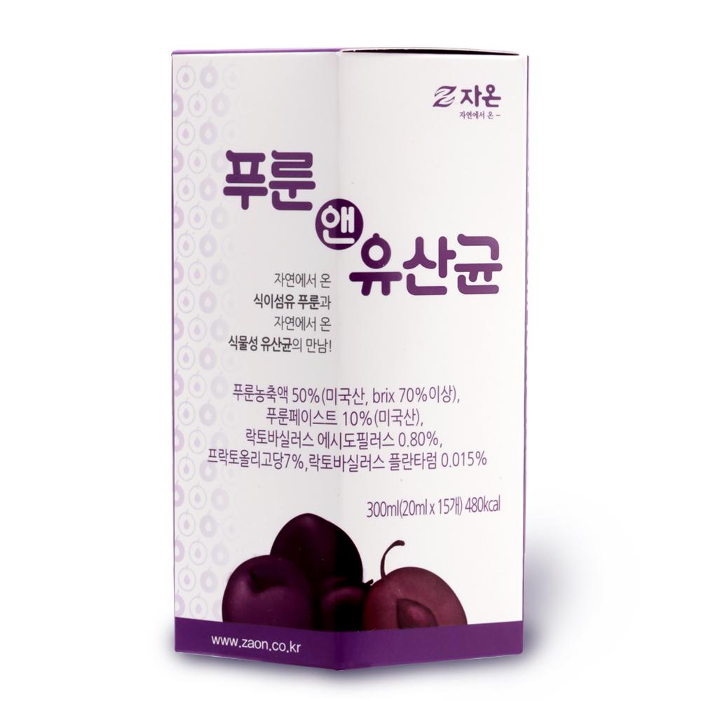 자온 푸룬앤유산균, 20ml, 15개