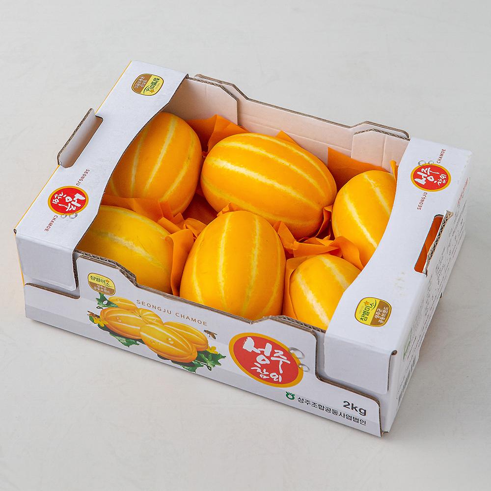 성주 월항참외, 2kg (7~11개), 1박스